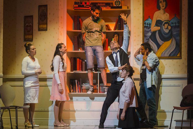 Elenco original de Toc Toc, comedia que regresa a la calle Corrientes