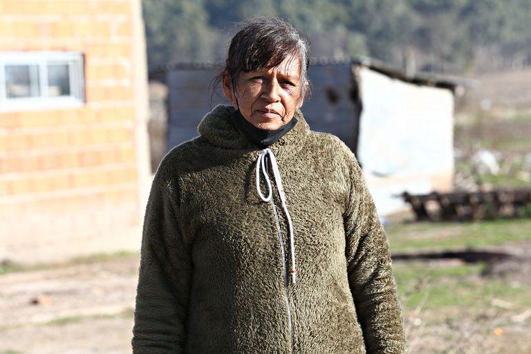 Vilma Enriquez, dueña de 30 de las 100 hectáreas de Guernica que fueron ocupadas hace un año