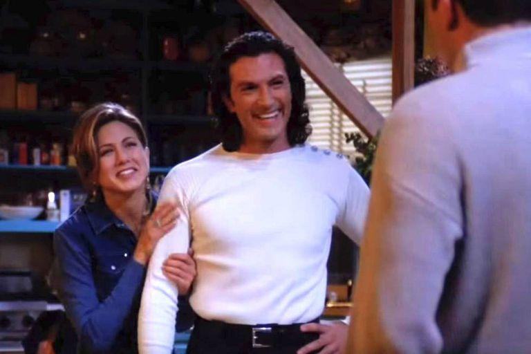 Cosimo Fusco como Paolo, el italiano que conquistaba a Rachel