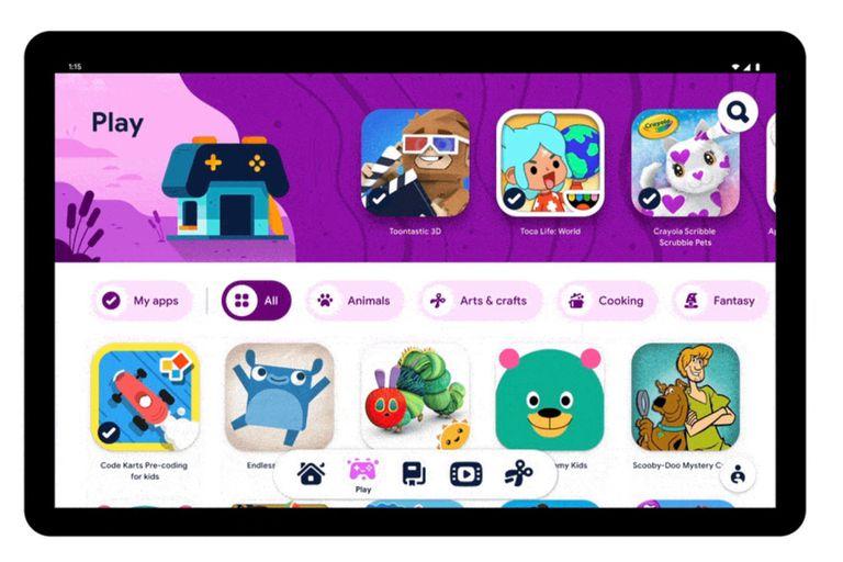 Google lanza Kids Space, su nuevo modo para niños en tabletas Android