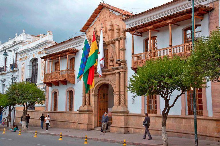 Casa e la Libertad en Sucre, Bolivia.