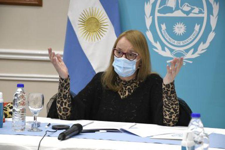 Alicia Kirchner da marcha atrás con el confinamiento total en Santa Cruz
