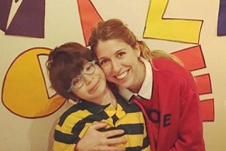 "Florencia Bertotti, orgullosa de su hijo Romeo: ""Mi pollito cumplió 10 años"""