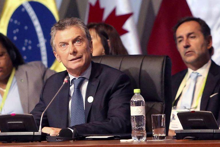 """Macri en Lima: """"La crisis humanitaria en Venezuela se ha vuelto insostenible"""""""