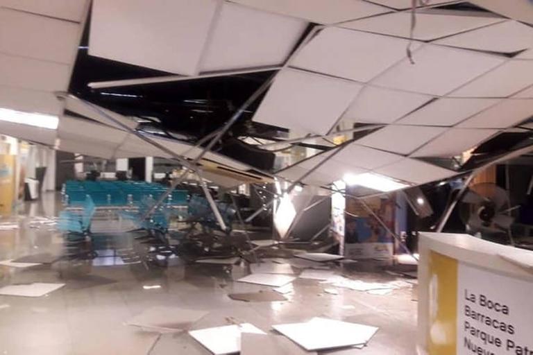 Hace dos años, se derrumbó el techo de la subsede de la Comuna 4 en Barracas