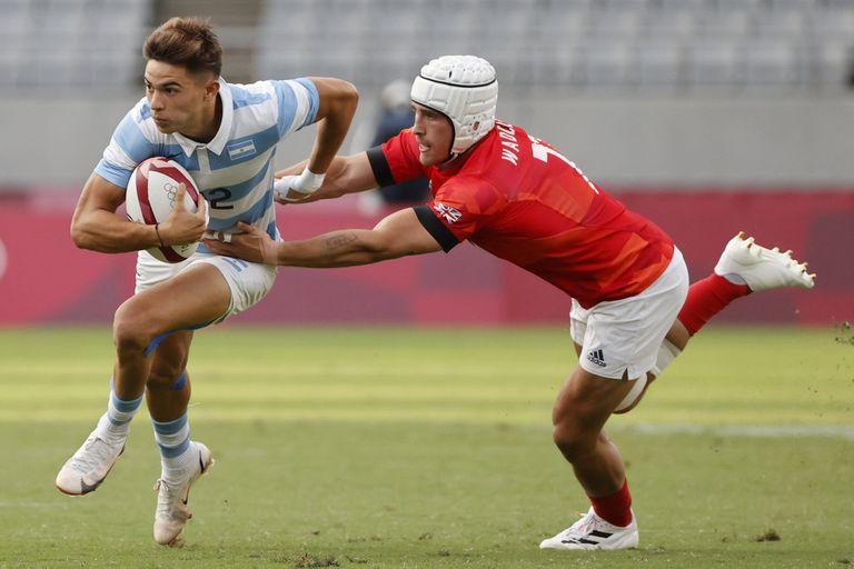 Marcos Moneta, escapa a su marcador