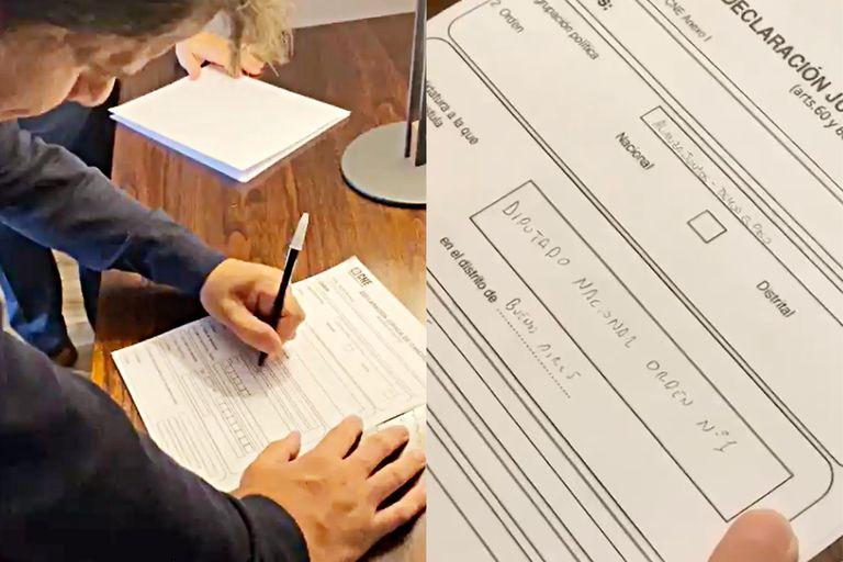Facundo Manes firmó como candidato y define quién lo secundará en la lista