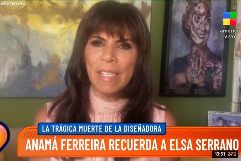 La muerte de Elsa Serrano: la conmoción de Anamá Ferreira y Miguel Romano