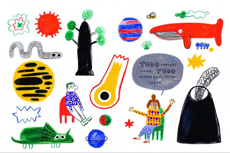 Ilustración interior de Imposible, de Catarina Sobral