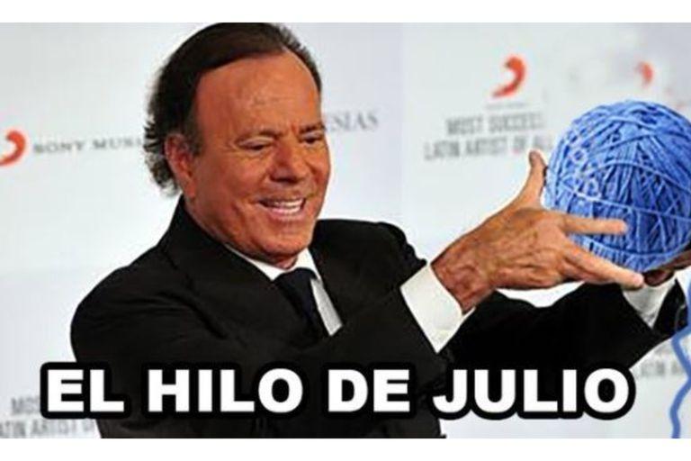 Julio Iglesias: por qué el cantante es la cara de miles de memes