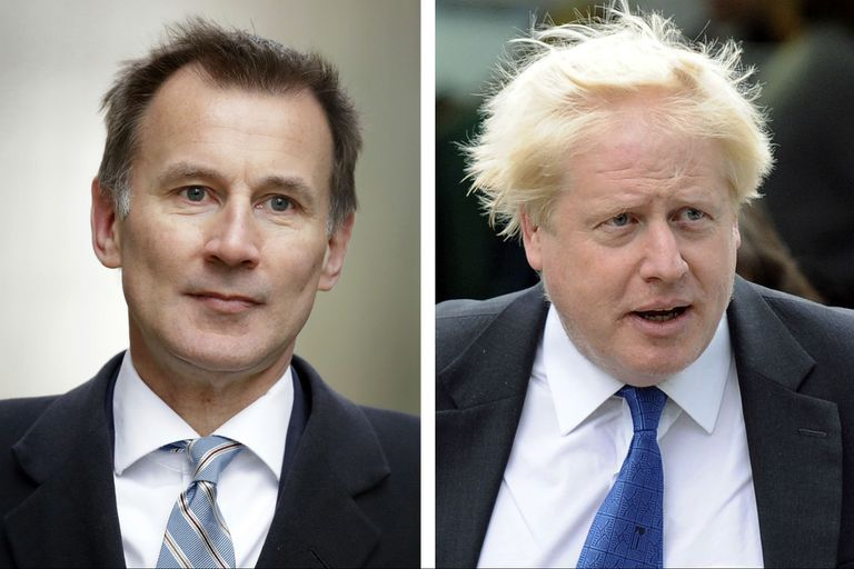 Boris Johnson y Jeremy Hunt se disputarán la sucesión de Theresa May