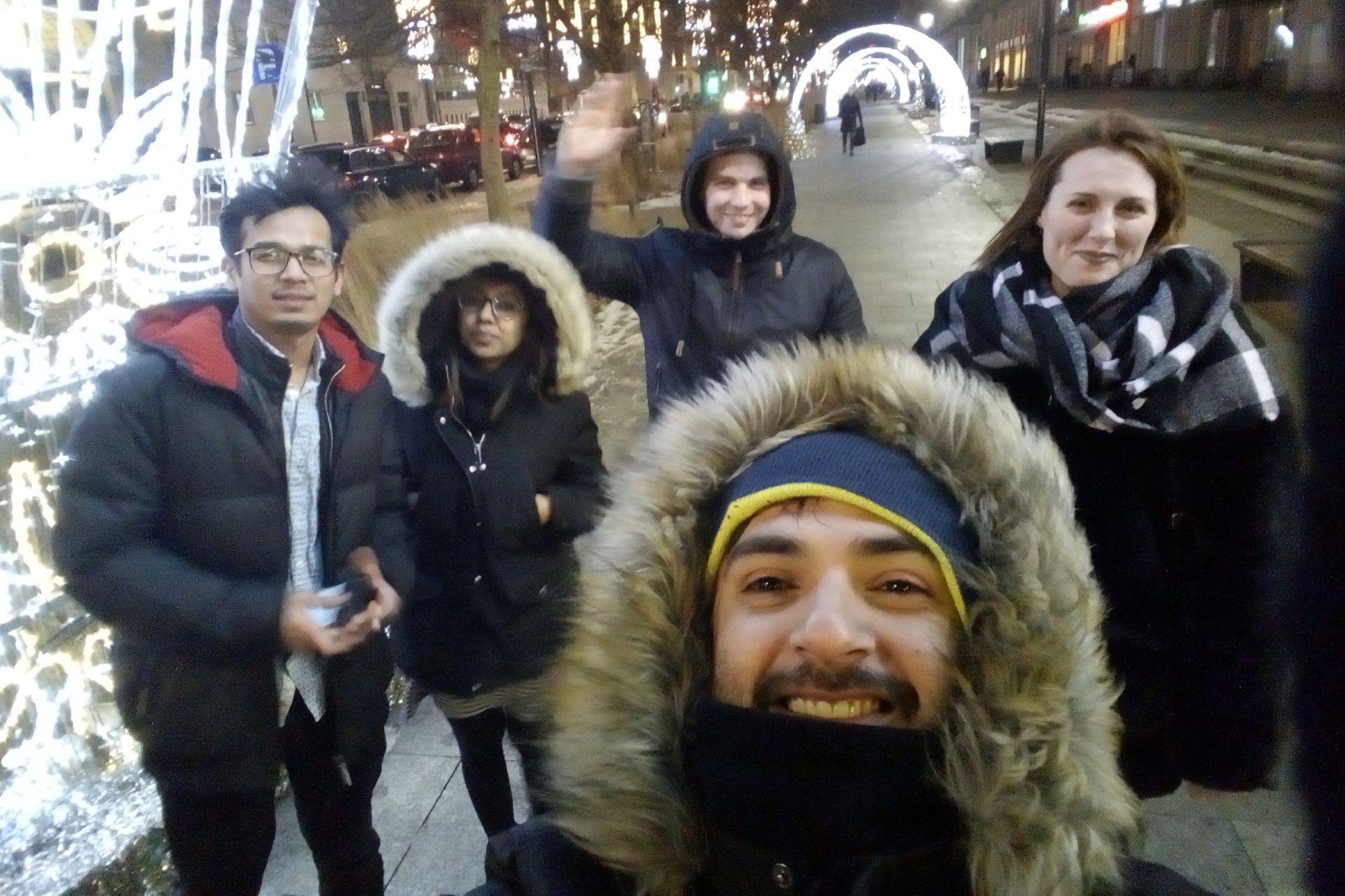 Fabio y sus amigos.