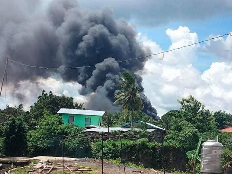 Accidente aéreo en Filipinas