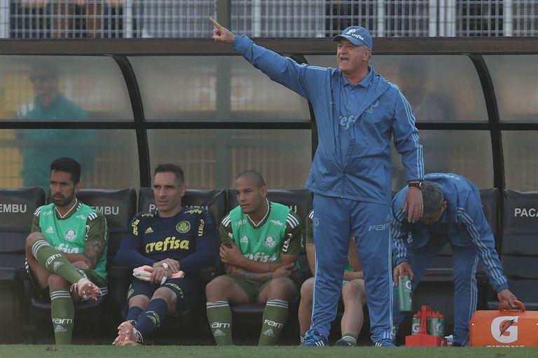 Boca-Palmeiras: Felipao Scolari fue héroe y villano, pero con el mismo libreto