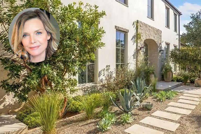 Conocé la mansión que tiene en venta  Michelle Pfeiffer en los Ángeles