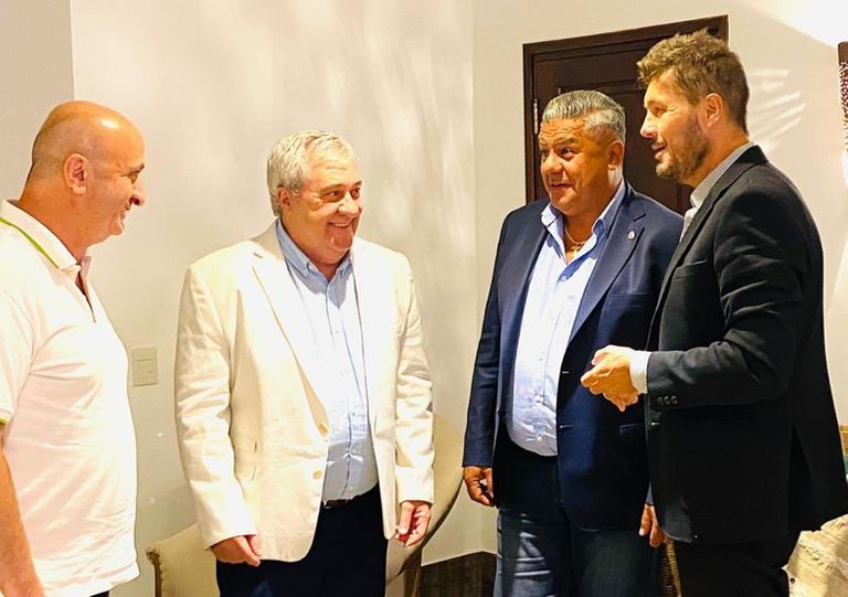 Russo, Ameal, Tapia y Tinelli