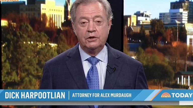 El abogado de Murdaugh en la cadena NBC