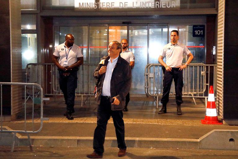 Mundial Qatar 2022: Michel Platini fue liberado después de ser interrogado