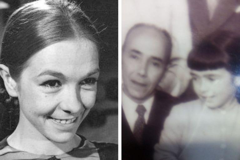 Virginia Lago empezó su carrera cuando era muy chica y, en compañía de su papá, se divirtió con sus primeras obras y estrenos