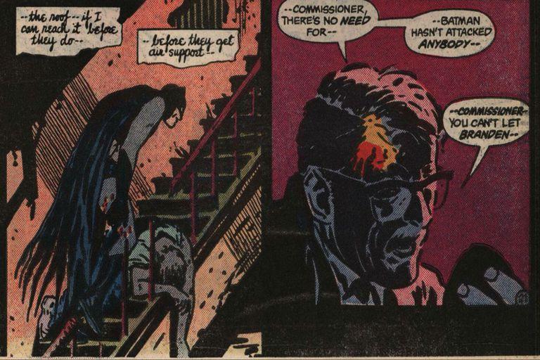 En Year One, el guionista y dibujante Frank Miller explora el primer año de Bruce como Batman, y sus encuentros iniciales con Gordon y otros personajes de Gotham