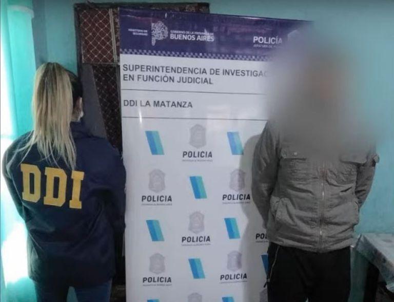 Uno de los sospechosos detenidos acusados de integrar una banda de secuestradores