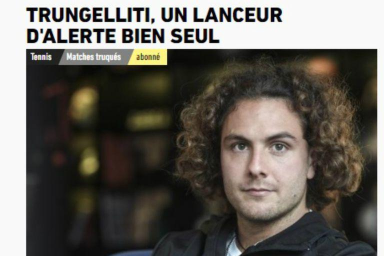 """""""Un denunciante bien solo"""": el informe de L'Equipe sobre el Caso Trungelliti"""