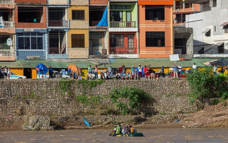 El cruce ilegal del río Bermejo causó hoy otra mortal tragedia en Aguas Blancas