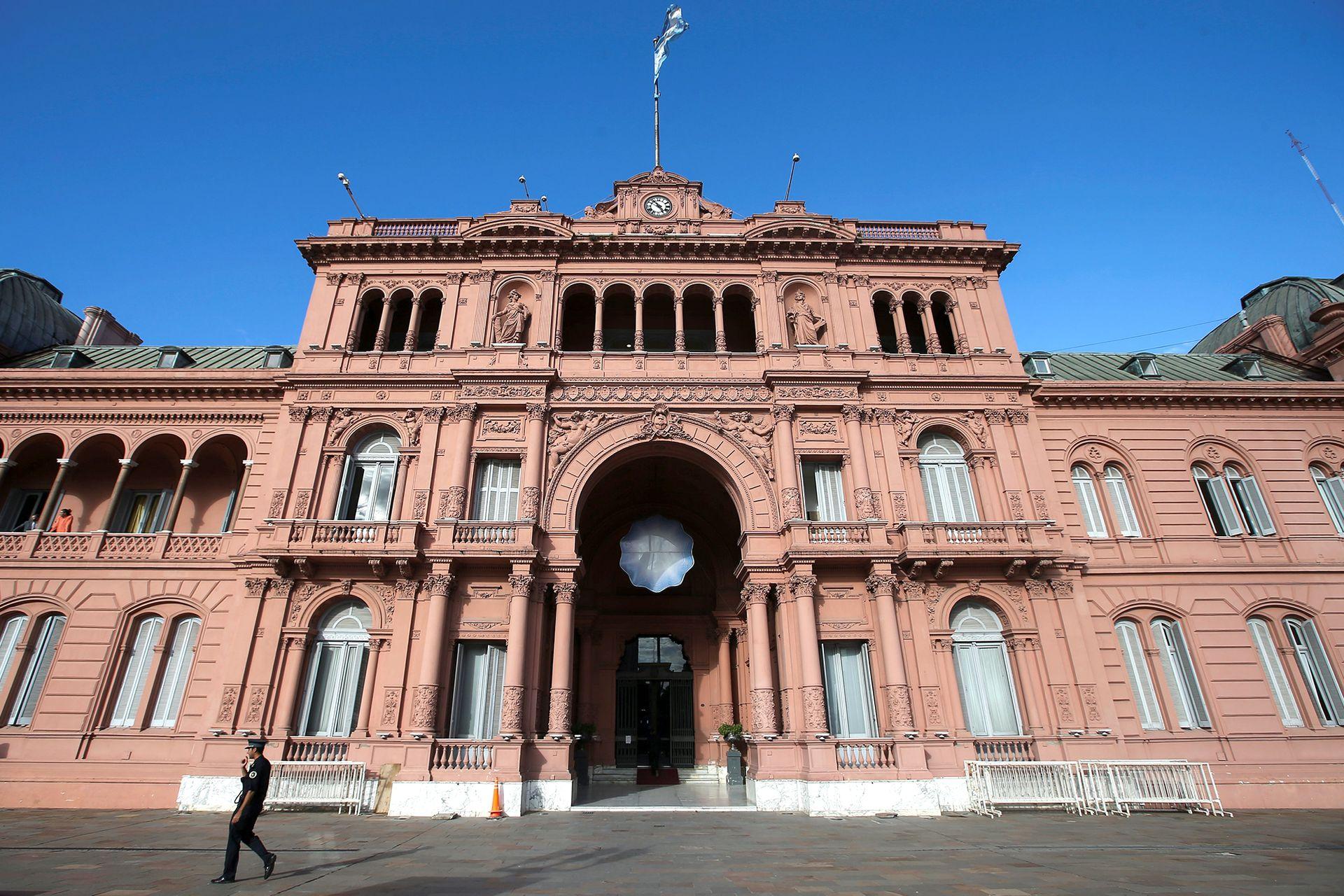 El Museo de la Casa Rosada se creó en 1957. Hasta 2011 funcionó en el subsuelo del edificio