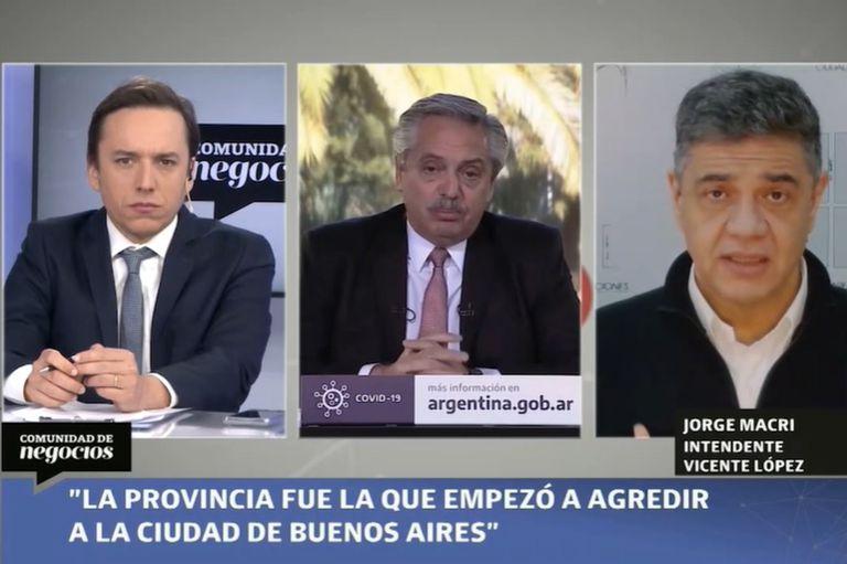 Jorge Macri, en Comunidad de Negocios