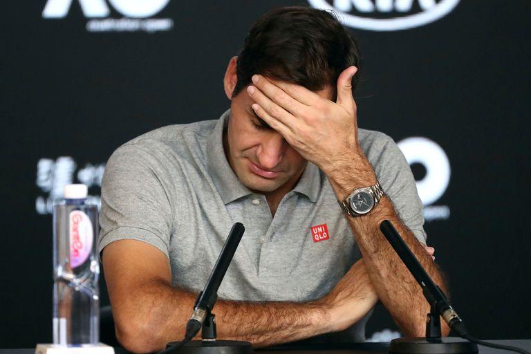 Australian Open: lo que dijo Federer sobre sus problemas físicos ante Djokovic