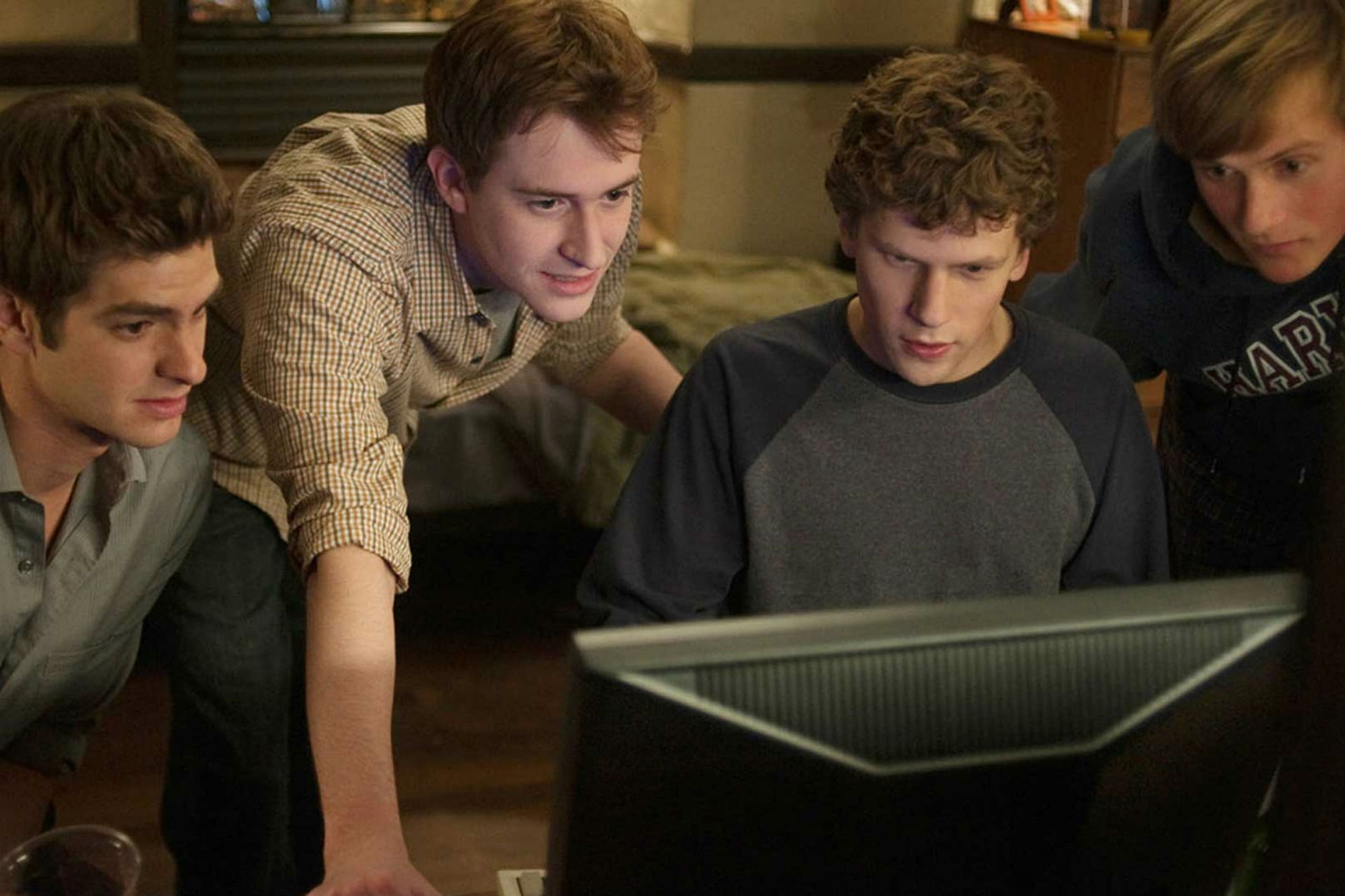 Jesse Eisenberg como Mark Zuckerberg