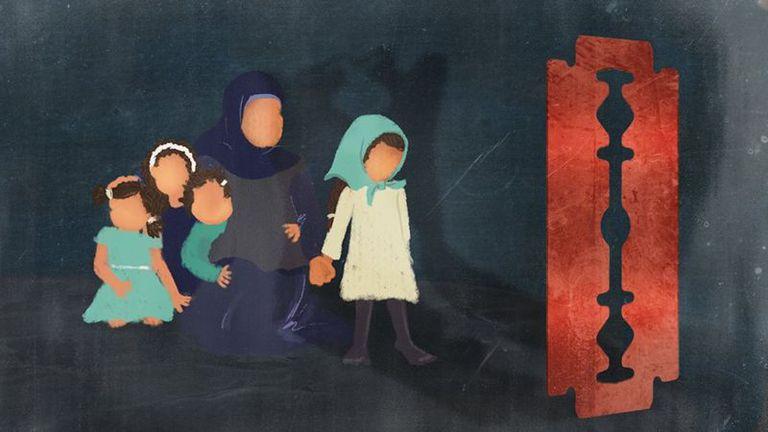 """Según la Agencia de la ONU para la Infancia, Unicef, el 87% de las niñas y mujeres de entre 15 y 49 años en Egipto han sido sometidas a la mutilación genital femenina, y el 50% de los egipcios cree que """"es un requisito religioso"""""""