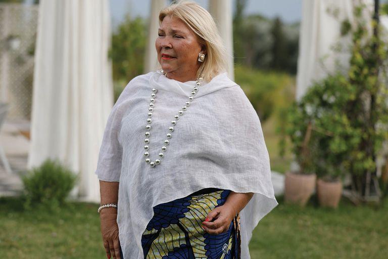 """Elisa Carrió: """"No se puede votar en medio del duelo nacional"""""""