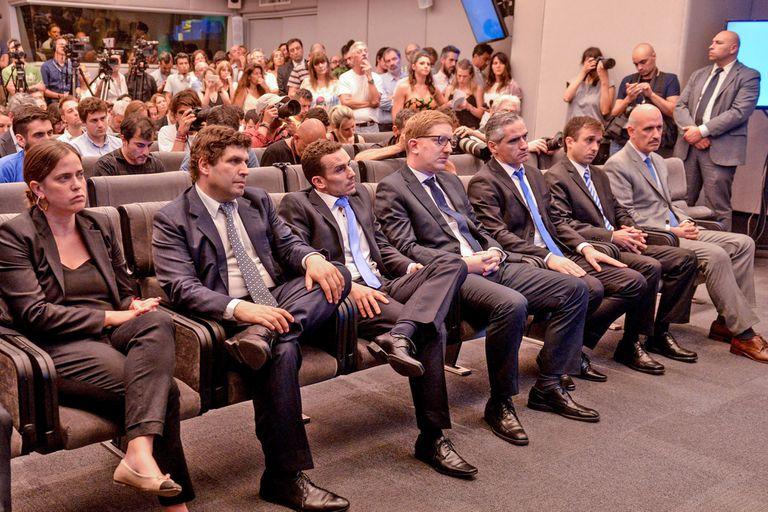 El equipo que acompañará a Martín Guzmán