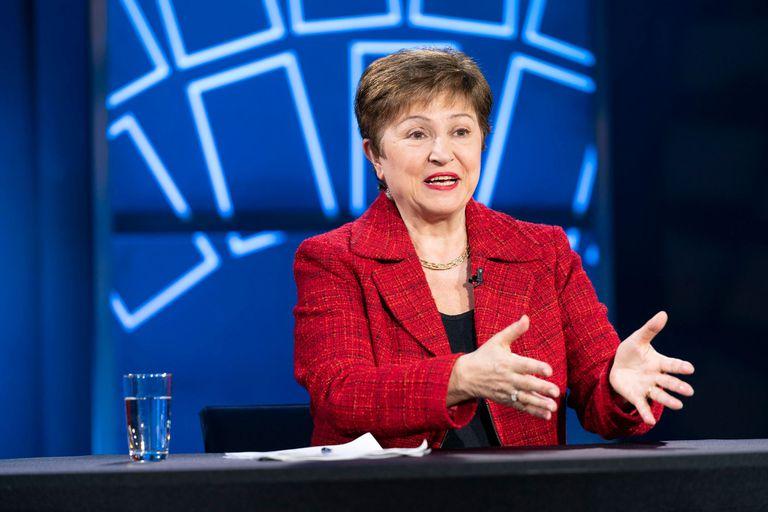 12-07-2021 La directora gerente del FMI, Kristalina Georgieva. POLITICA ECONOMIA FMI