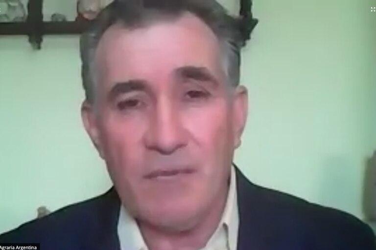 Carlos Achetoni, presidente de la Federación Agraria Argentina (FAA)
