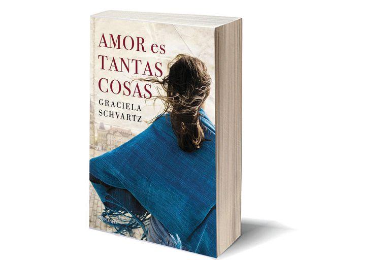 La nueva novela de Graciela Schvartz narra una historia de amor que supera obstáculos a lo largo de décadas