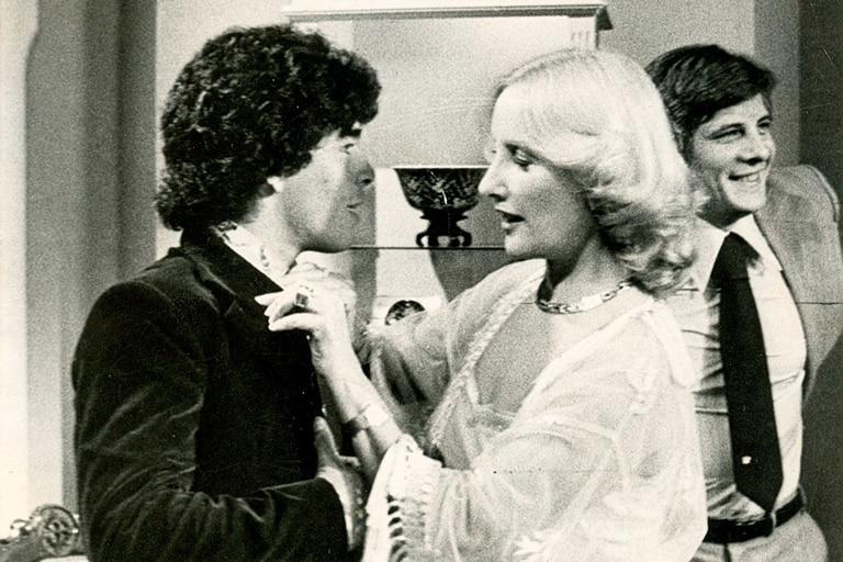 En los 80, cuando Maradona fue a almorzar al programa de Mirtha Legrand