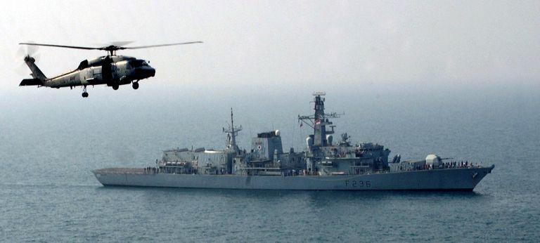 La fragata HMS Montrose, de la marina británica, tenía previsto amarrar en Perú el próximo jueves