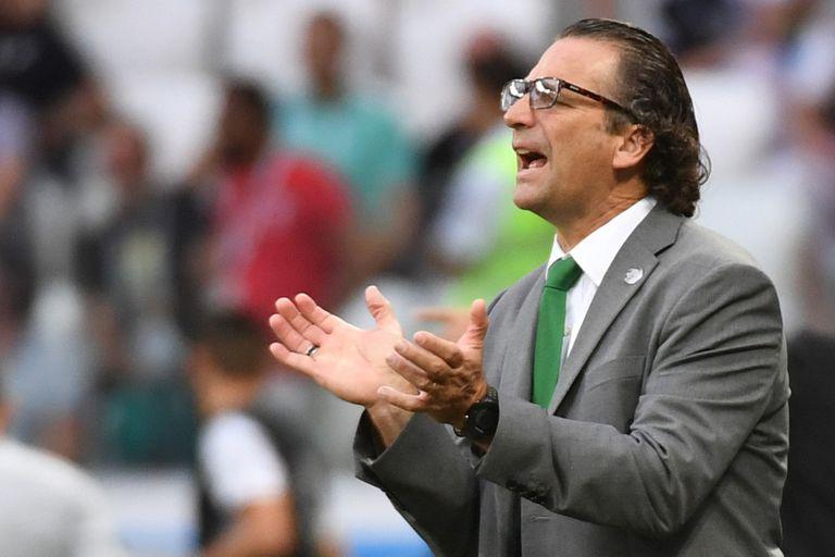Juan Antonio Pizzi seguirá como DT de Arabia Saudita hasta febrero de 2019