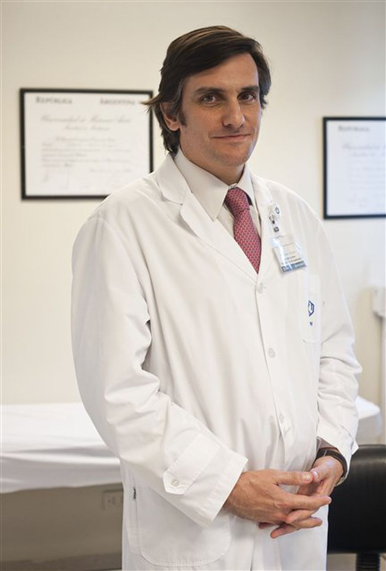 Salvador M. Guinjoan, del Conicet, la Facultad de Medicina de la Universidad de Buenos Aires y de Fleni