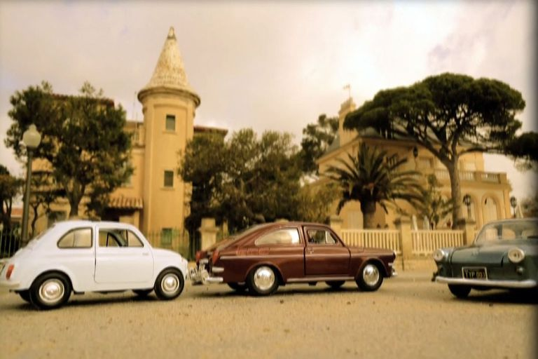 Viaje postal de la Villa Buenaventura, el palacete del mediterráneo donde se alojaba Perón cuando no estaba en Puerta de Hierro