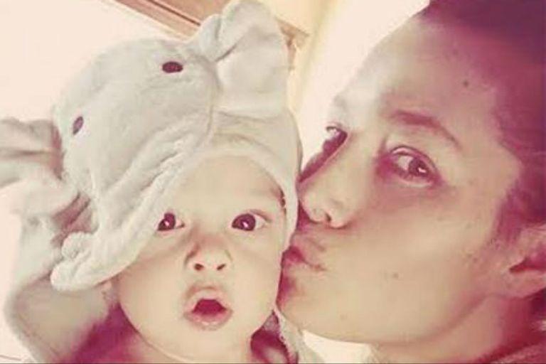 Jessica Biel y su hijo, Silas