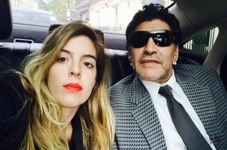 Dalma se encontrará con Diego para resolver su pelea por Rocío Oliva; Diego le prohibió a su sobrino el Chino usar el apellido Maradona