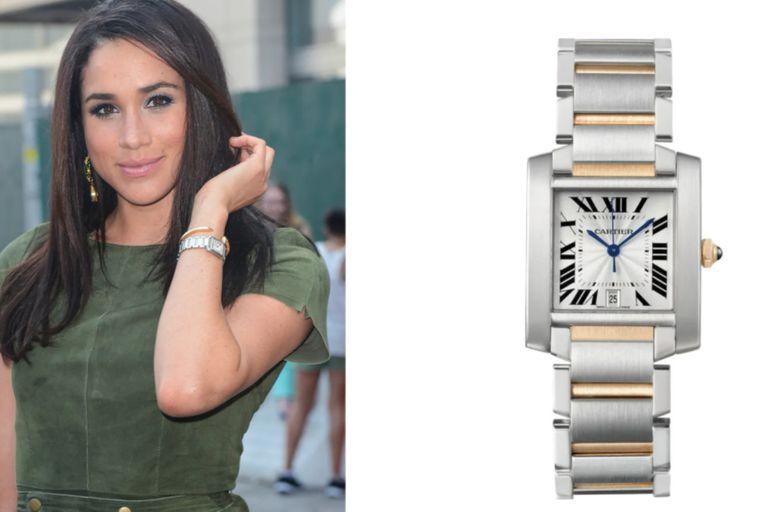 El reloj fue adquirido por Markle en el 2012, cuando todavía formaba parte del elenco de Suits