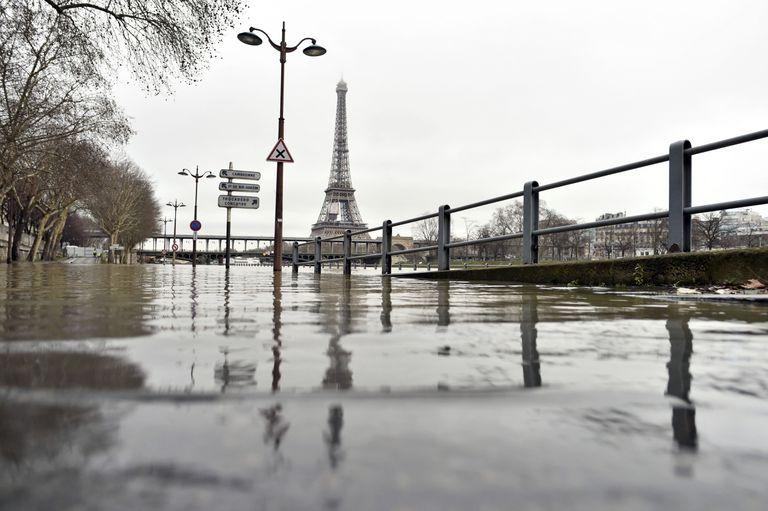 En fotos: París bajo el agua por el desborde del Sena