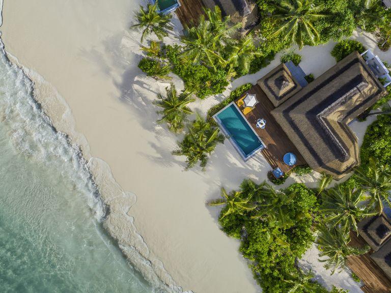 El espectacular hotel de Maldivas