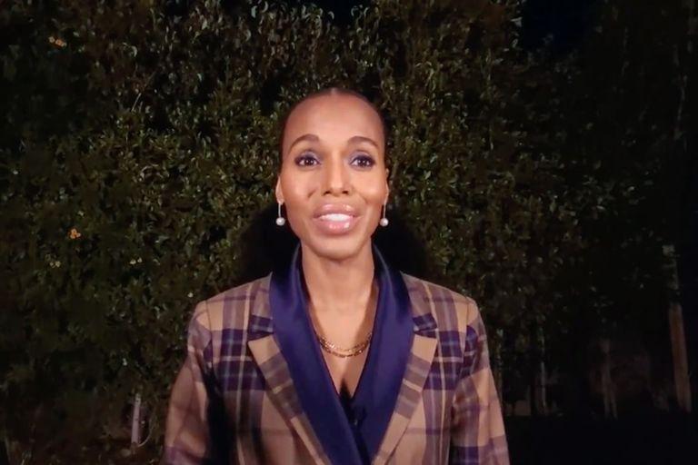 Kerry Washington celebró la llegada de Kamala Harris a la vicepresidencia