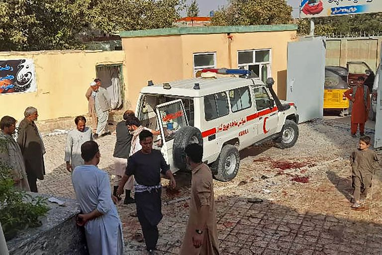El trabajo de los servicios de salud tras el ataque