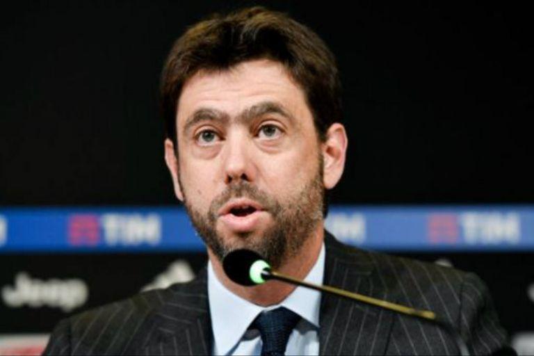Andrea Agnelli es presidente del club de fútbol Juventus